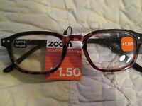 Zoom Eyeworks Express Yourself Eyewear Fun Colorful Reading Glasses Ladies