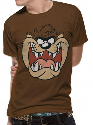 3046 Taz Face T-Shirt Looney Tunes Wile E Coyote Road Runner Daffy Duck Tweety