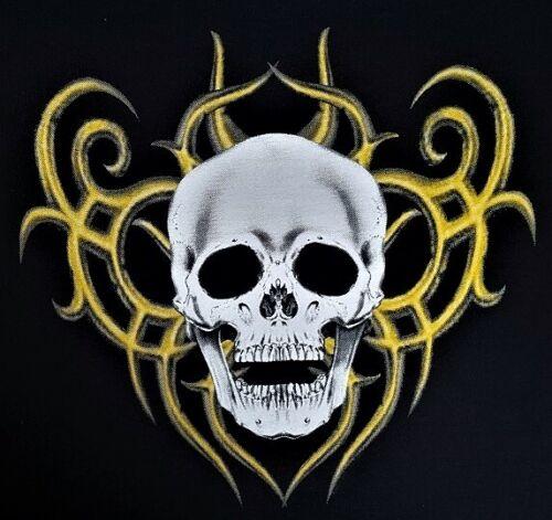 Kapuzenpullover//Hoody Skull Totenkopf Tribel/&Tattoomotiv 4 Farben Modell Skull