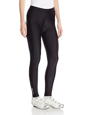 Canari Cyclewear Women Gel Cycling Bicycle Compression Tights Black Medium Large