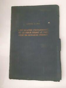 Ludmila J. Rais I Quattro Princesses&coeur Solido 1914 Diploma Premio E.Martin