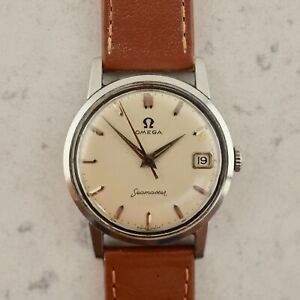 Dettagli su C.1961 Vintage Omega Seamaster wristwatch cal. Ω 610 ref. CK 14384 5 SC in steel