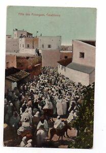 Marokko-CPA-Casablanca-Fete-des-Aissagues-J378