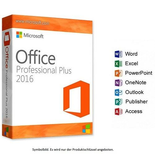 OFFICE 2016 Professional Plus ✔ Excel, Word, Power Point, Outlook, Access , TOP8