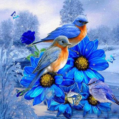Birds Diamond Painting Embroidery Cross Stitch Kit Home Wall Craft Decor one