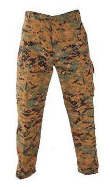 Us propper MARPAT Army Woodland  digital USMC acu Combat Battle RIP pantalones Pants LR  con 60% de descuento