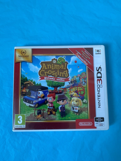 Animal Crossing Welcome Amiibo, Nintendo 3DS, Animal…