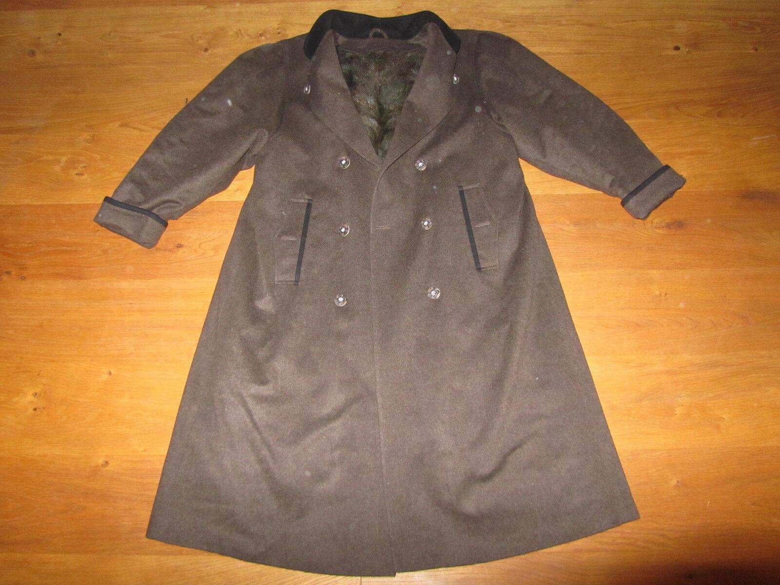 Loden Mantel geschorener NERZ Futter Gr. 40 super Zustand Pelz Fur