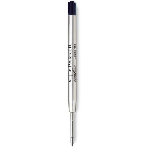 Parker Ball Point Pen Ink Refill Medium Black X 4
