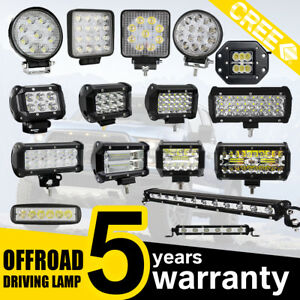 18-27-36-42-48-60-72-120W-LED-travail-rampe-declairage-SPOT-FLOOD-camion-Offroad