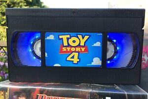 Toy Story Disney Film Retro VHS Night Light, Desk Lamp, Led, Bedroom Lamp, Kids