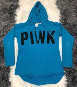 Victorias Secret Pink Hoodie V Neck Sweatshirt