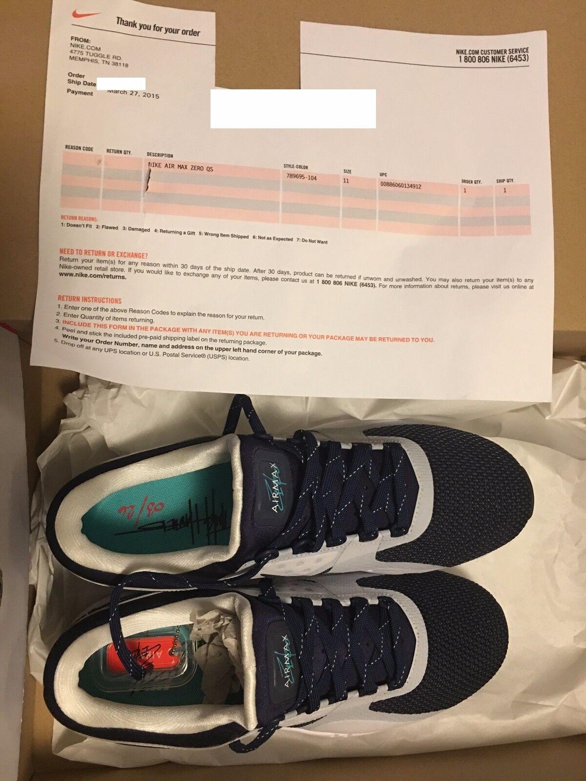 Nike air 11 max - og qs ursprünglichen blau größe 11 air 789695-104 erste release 4f94ba