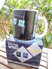 Doctor Who TARDIS 20 oz. Heat Reactive Ceramic Mug in Gift Box Vandor NEW