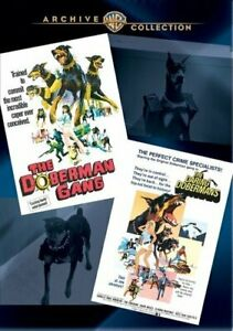 The Doberman Gang The Daring Dobermans 2 Disc Dvd New