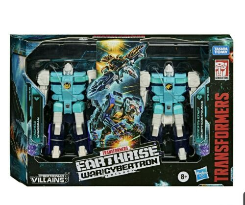 Transformers WFC-E30 Earthrise Decepticon clones 2-Pack Target Exclusive