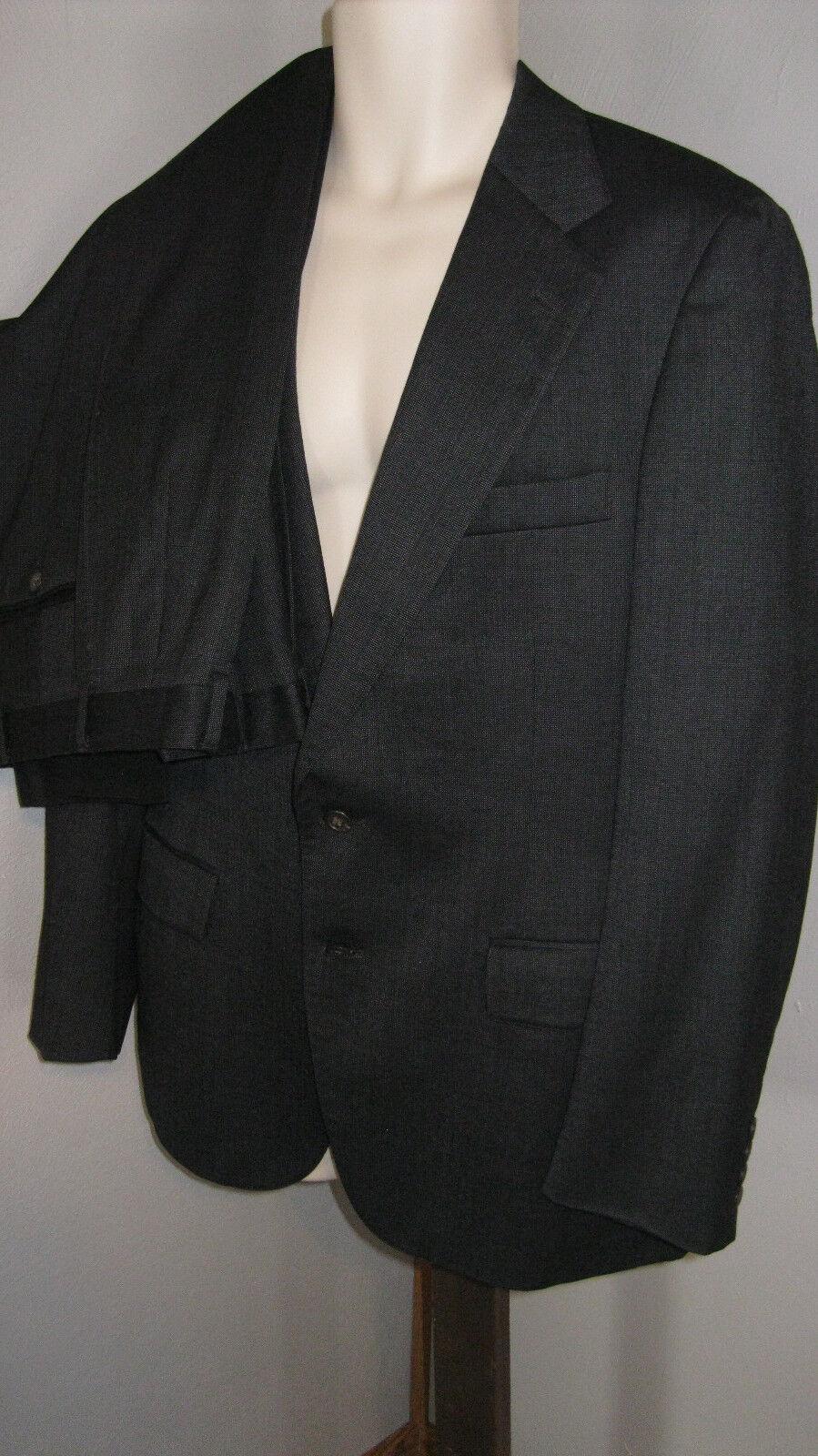 RALPH LAUREN POLO UNIVERSITY CLUB 2 button Suit 38R  PANTS 31 X 32( PLEATED)