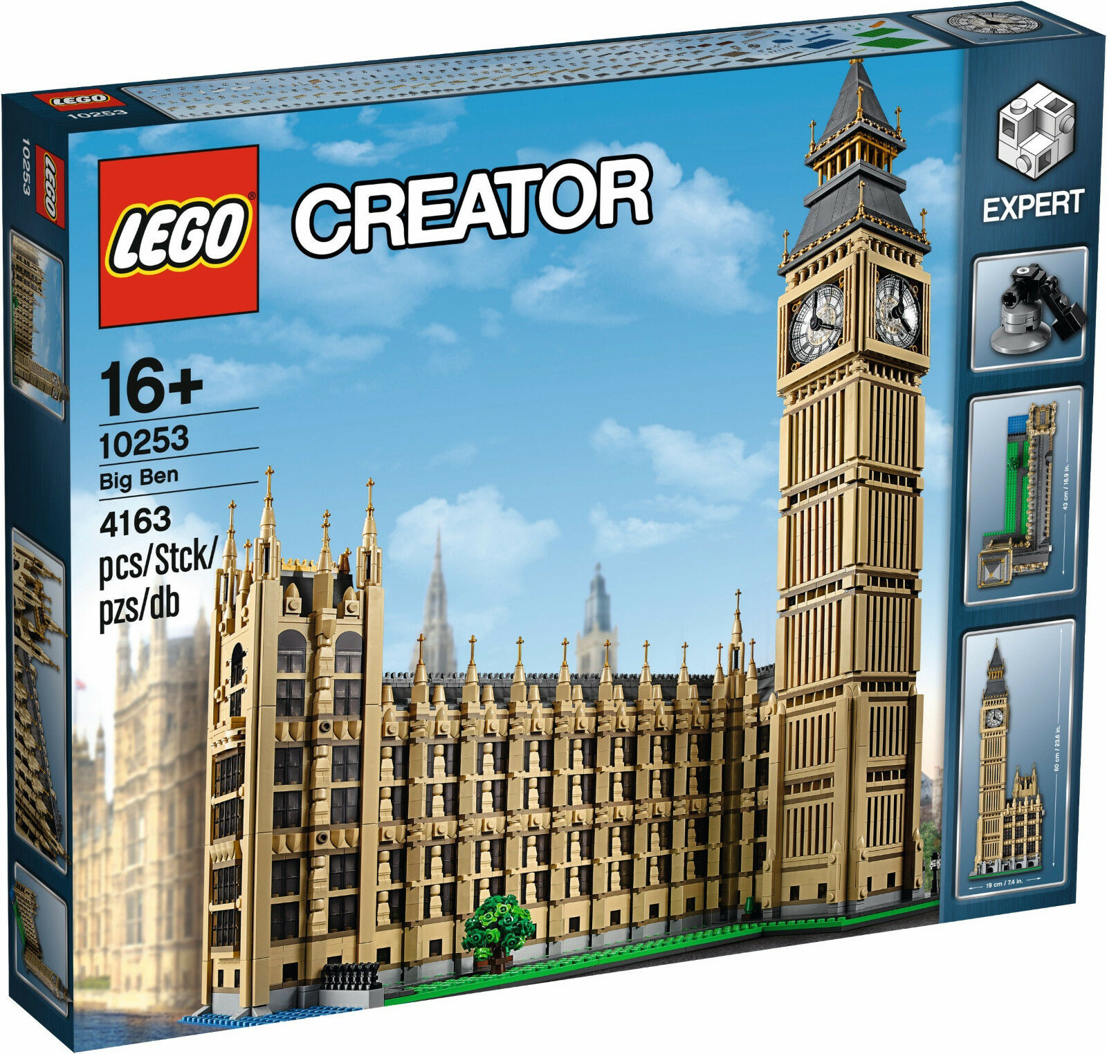 LEGO exclusif Exclusive - 10253 Big Ben-NOUVEAU & NEUF dans sa boîte