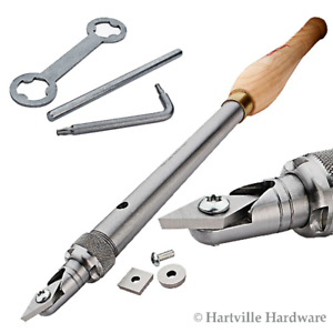 Robert Sorby #RSTM-HT123 Handled Turnmaster 3 High Speed Steel Cutters