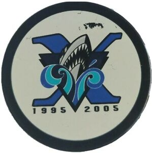 RIMOUSKI-OCEANIC-QMJHL-OFFICIAL-HOCKEY-PUCK-INGLASCO-MFG-MADE-IN-CANADA