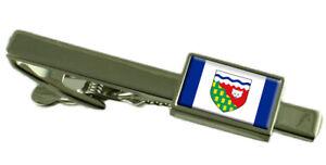 Northwest Territories Pince à Cravate - Barre avec Select Gifts Pochette Dy2Det6v-09154900-514359718
