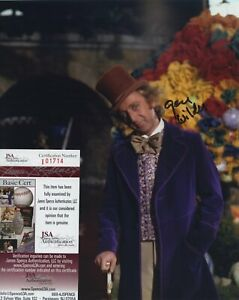 GENE-WILDER-SIGNED-AUTOGRAPHED-WILLY-WONKA-COLOR-8x10-PHOTO-JSA-SPENCE-COA