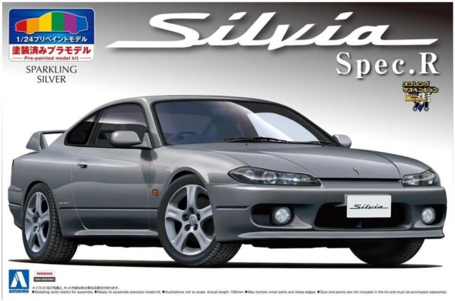 AOSHIMA 08645 S15 Nissan Silvia Spec.R Sparkling model 1/24 pre-painted
