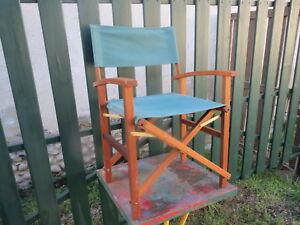 Sur Scène De Bois Détails Camping Fauteuil Vintage Design Metteur Ancien En nOX08NPZwk