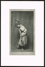 1910's Vintage Dancer Lydia Lopokowa Arnold Genthe Pictorialist Photo Print