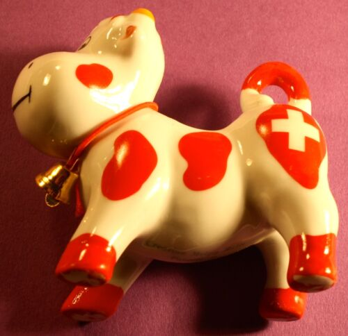 Swiss cow toothpick holders