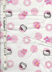 Sanrio Hello Kitty Patchwork by Springs Creative bty