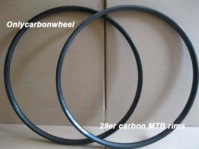 30mm width 29er carbon mountain bike rims super light weight Tubeless compatible