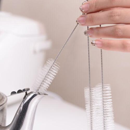 10X Nylon-Bürsten Reinigungsbürste für Flaschenbürste Wasserkocher Teekanne DE