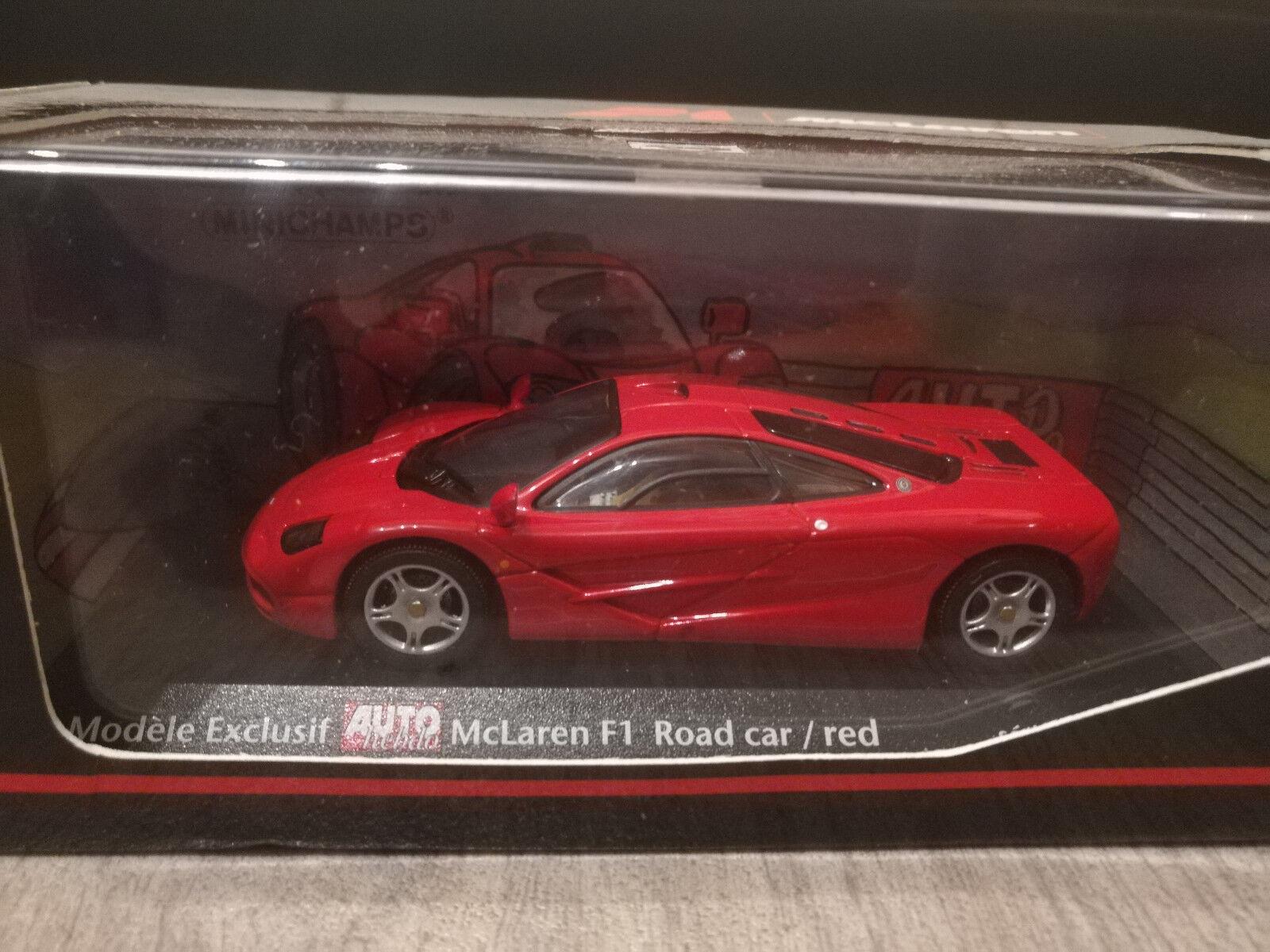 Mclaren F1 Road Car   Auto hebdo Car Minichamps 1 43