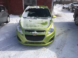 2013 CHEVROLET SPARK 5 spd MANUAL