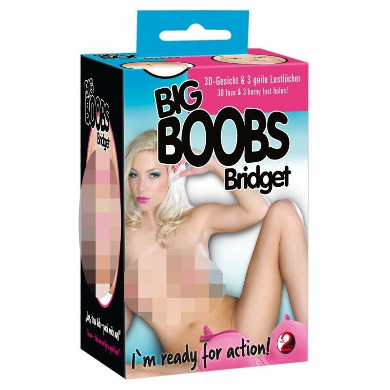 Bridget BigBoob Doll Bambola gonfiabile reall doll addio al celibato nubilato sc