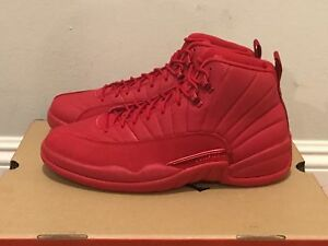 NEW 2018 Air Jordan Retro 12 XII Gym Red Black Friday 130690-601 ... 84b0ef709d56