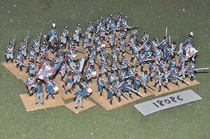 20 mm Napoléon / Prussien - Infanterie en plastique 72 Figs Inf (18086)