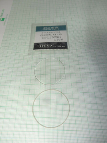 Citizen Original Uhrglas Mineralglas gewölbt neu originalverpackt mit Dichtung