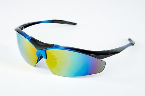 Polarized sports sunglasses with 5 lenses Seller U.S FAST SHIPPING!