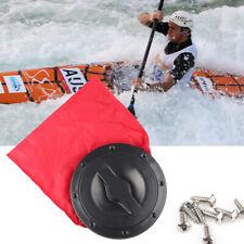 "New 8/"" Deck Plate Boat Kayak Canoe Storage Bag Cover Kit Hatch TWUK"