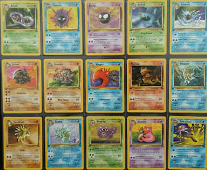 Pokemon Fossil Cards in Excellent to Mint Condition Wizards of the Coast