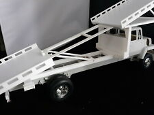 3 Car Flat Bed Wrecker Tow Truck Bed  1:24 1:25 scale Diorama