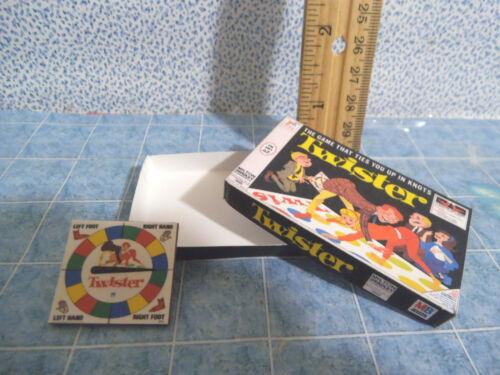 Barbie 1:6 Furniture Handmade Miniature Board Game Twister