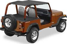 1992 1995 Jeep Wrangler Yj Extended Bikini Safari Top Black Fits 1994 Jeep Wrangler