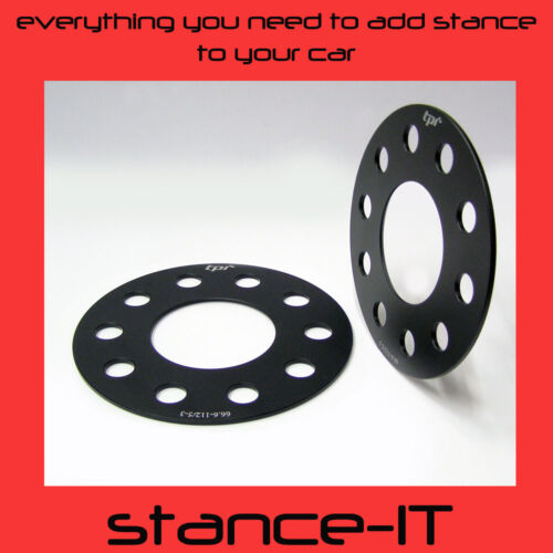 AUDI SPACER SHIMS WHEEL SPACERS PCD 5X112 CB 57.1 3MM LIGHT WEIGHT 3MM VW