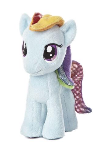 My Little Pony 6 inch Plush Stuffed Animal Horse Rainbow Dash AU15535