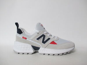 separation shoes d6de6 9bb94 Details about New Balance 574 Grey Navy Blue Red White Fresh Foam Sz 9  MS574GNC