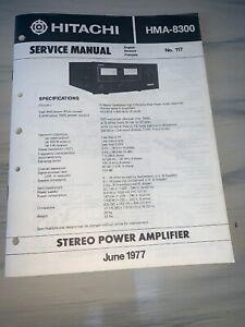 Hitachi-hma-8300-Stereo-Power-Amplifier-Service-Manual-2