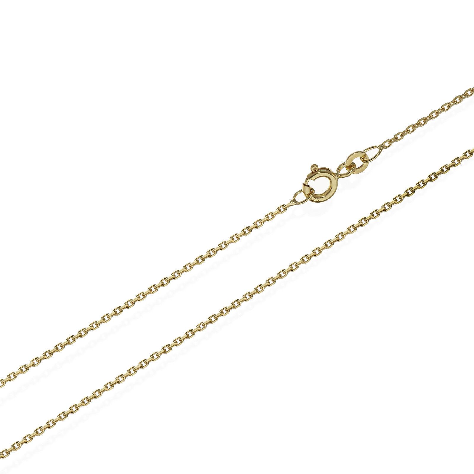 42cm Catena di ancoraggio Collier 333er Giallo oro Catena Diamantato Diamantato Diamantato 1 2mm 1 8g 6625 b4960a